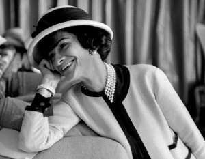 Fashion icon Coco Chanel