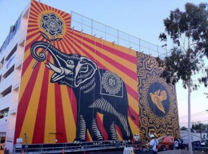 Peace Elephant by Shepard Fairey