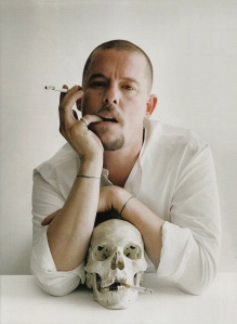 Alexander McQueen (photo by Tim Walker)
