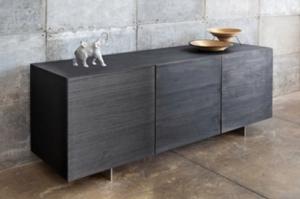LAX Special Edition Dark Buffet with black cast aluminum doors